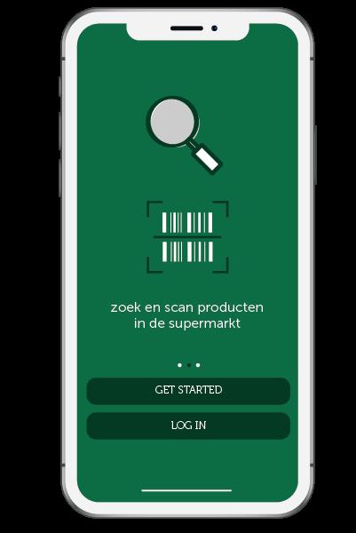 Zoek en Scan producten in de supermarkt