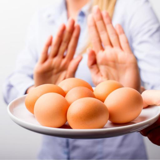nee zeggen tegen ei